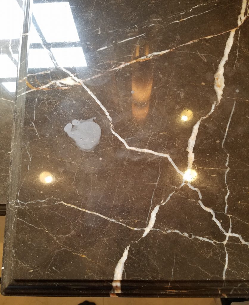 How To Remove Water Rings From Marble